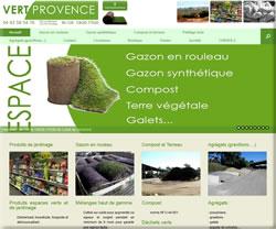 Vert Provence, spécialiste du gazon en rouleau près d'Aix en Provence
